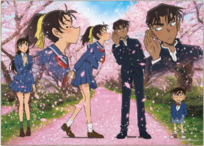 ジグソーパズル 名探偵コナン 桜舞う季節 500ピース (06-111S)[エポック]《発売済・在庫品》