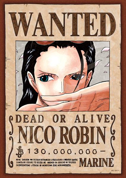 ジグソーパズル ワンピース 手配書『ニコ・ロビン』 208ピース(208-040)[エンスカイ]《在庫切れ》