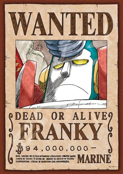 ジグソーパズル ワンピース 手配書『フランキー』 208ピース(208-041)[エンスカイ]《発売済・在庫品》