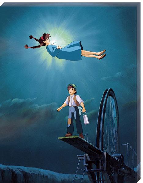 ジグソーパズル アートボードジグソー 天空の城ラピュタ 空から降りてきた少女 366ピース (ATB-16)[エンスカイ]《在庫切れ》
