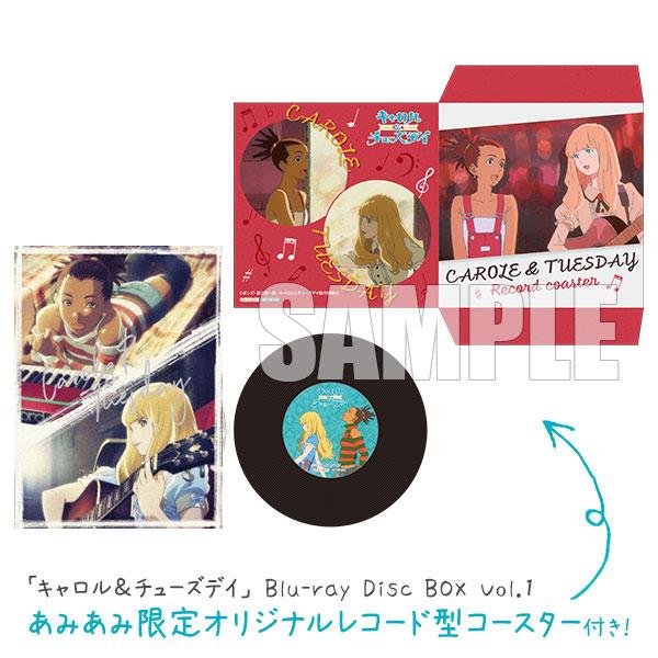 【あみあみ限定特典】BD 「キャロル&チューズデイ」 Blu-ray Disc BOX Vol.1[FlyingDog]【送料無料】《10月予約》