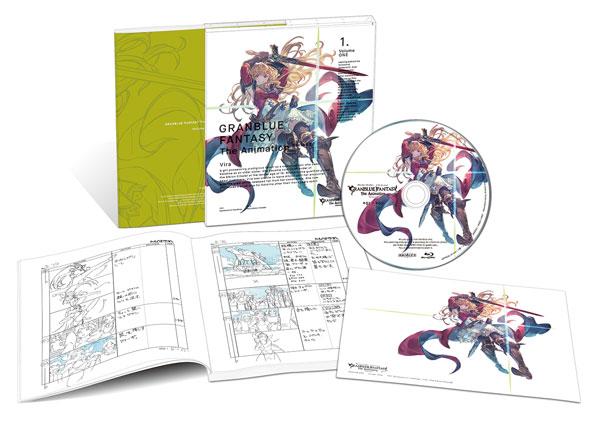 BD GRANBLUE FANTASY The Animation Season 2 1 完全生産限定版 (Blu-ray Disc)[アニプレックス]《在庫切れ》