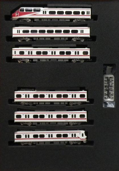 50628 名鉄1030/1230系(パノラマsuper デビュー30周年ヘッドマーク付き)6両編成セット(動力付き)完成品[グリーンマックス]【送料無料】《在庫切れ》