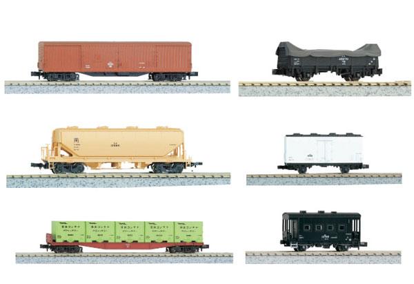 10-033 貨物列車 6両セット[KATO]《11月予約》