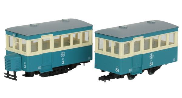 鉄道コレクション ナローゲージ80 猫屋線 ジ3・ハ51新塗装[トミーテック]《11月予約》