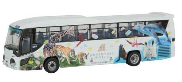 ザ・バスコレクション 明光バスパンダ白浜エクスプレス未来をツナグSmileバス[トミーテック]《発売済・在庫品》