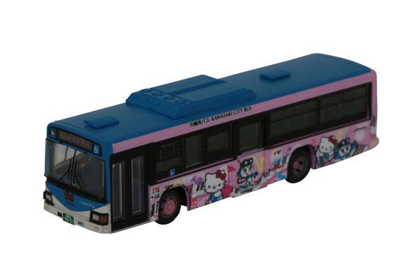 ザ・バスコレクション 川崎市交通局 かわさきノルフィン×ハローキティ 音楽のまちラッピングC[トミーテック]《在庫切れ》