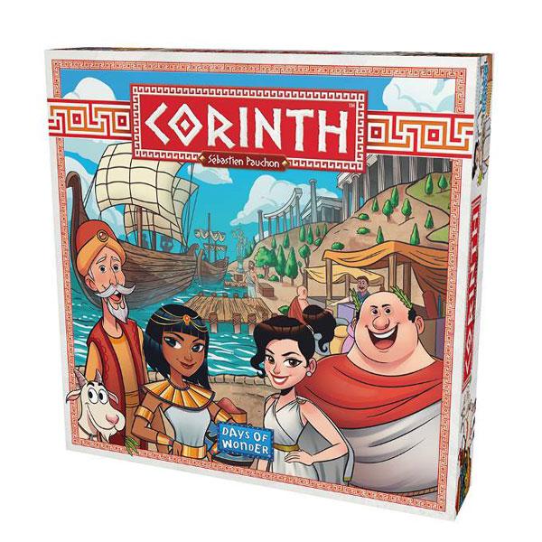 ボードゲーム コリントス(CORINTH) 日本語版[ホビージャパン]《発売済・在庫品》