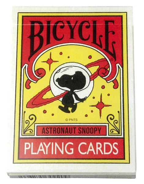 BICYCLE PLAYING CARDS ASTRONAUT SNOOPY (トランプ)[メディコム・トイ]《在庫切れ》