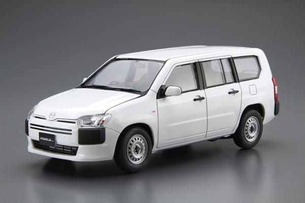 ザ・モデルカー 1/24 マツダ NCP160M ファミリアバン '18 プラモデル[アオシマ]《発売済・在庫品》