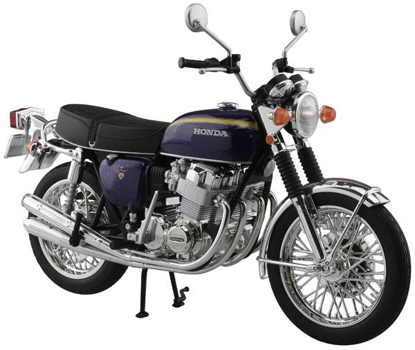 1/12 完成品バイク Honda CB750FOUR(K2) パープル[スカイネット]《在庫切れ》