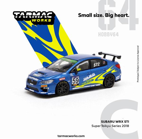 1/64 Subaru WRX STI Super Taikyu Series 2018[Tarmac Works]《11月予約》