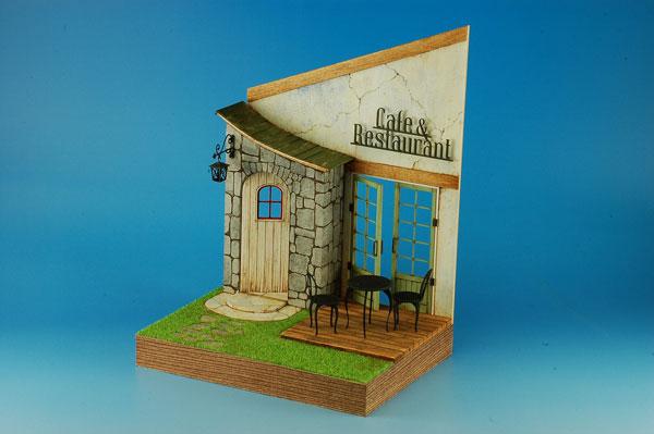 1/24 スウィートスタイル 組立キット カフェ&レストランエントランス[コバアニ模型工房]《在庫切れ》