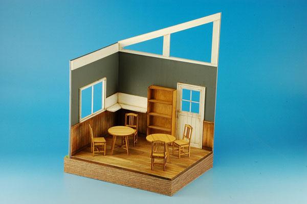 1/24 スウィートスタイル 組立キット カフェ&レストランインテリア[コバアニ模型工房]《在庫切れ》