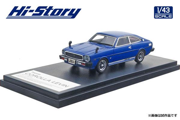 1/43 Toyota COROLLA LEVIN GT (1977) フィールライクブルー[ハイストーリー]《在庫切れ》