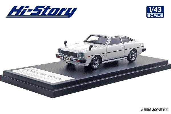 1/43 Toyota COROLLA LEVIN GT (1977) インペリアルホワイト[ハイストーリー]《在庫切れ》