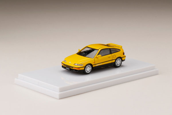 1/64 HondaCR-X SiR (EF8) Yellow[ホビージャパン]《発売済・在庫品》