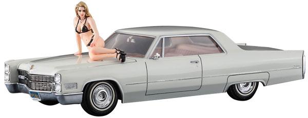 1/24 1966 アメリカン クーペ タイプC w/ブロンドガールズ フィギュア プラモデル[ハセガワ]《発売済・在庫品》