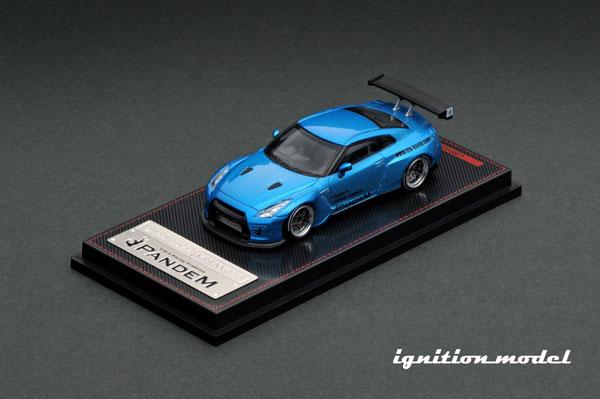1/64 PANDEM R35 GT-R Blue Metallic[イグニッションモデル]《10月予約》