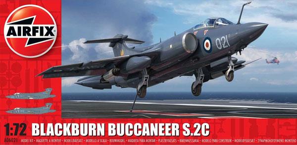 1/72 ブラックバーン バッカニア S.2C プラモデル[エアフィックス]《11月予約》