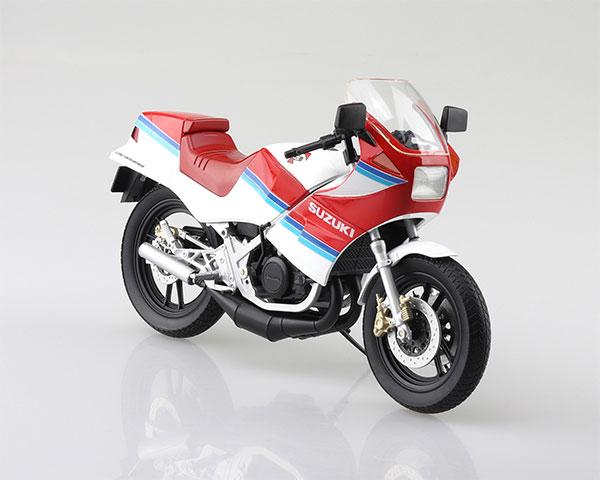 1/12 完成品バイク SUZUKI RG250Γ レッド×ホワイト[スカイネット]《在庫切れ》