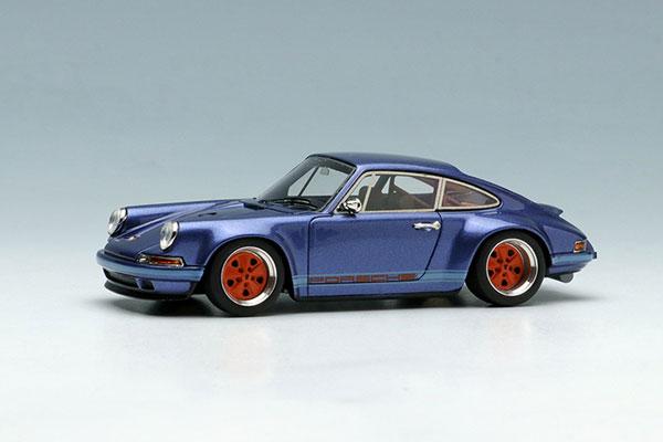 1/64 シンガー 911(964)クーペ アイスブルーメタリック[メイクアップ]《在庫切れ》