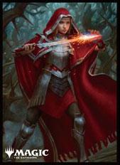 マジック:ザ・ギャザリング プレイヤーズカードスリーブ 『エルドレインの王権』 ≪不敵な火花魔導士、ローアン≫ パック[エンスカイ]《在庫切れ》