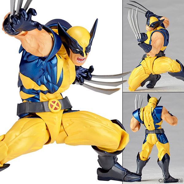 フィギュアコンプレックス アメイジング・ヤマグチ No.005 Wolverine (ウルヴァリン)(再販)[海洋堂]《在庫切れ》