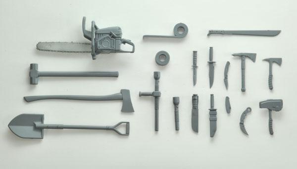リトルアーモリー [LD026]近接武器セットA 1/12 プラモデル[トミーテック]《02月予約》