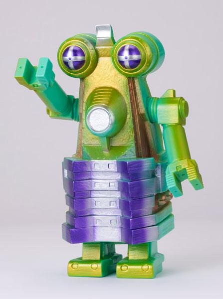 怪獣郷ソフビシリーズ 一般流通 ロボット怪獣 ビルガモ(グリーン) 「帰ってきたウルトラマン」より[やまなや]《在庫切れ》