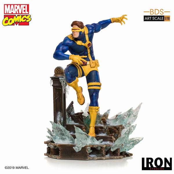 マーベルコミック/ X-MEN vs SENTINEL: サイクロプス 1/10 アートスケール スタチュー[アイアン・スタジオ]【送料無料】《在庫切れ》