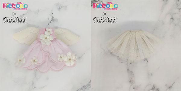 PICCODO×MILADOLL ドール服セットC 花の天使 (ドール用)[GENESIS]《発売済・在庫品》