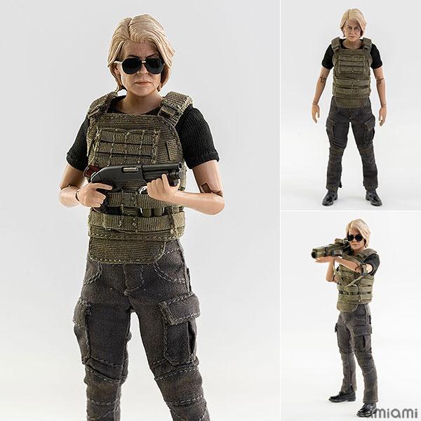 Terminator: Dark Fate (ターミネーター:ニュー・フェイト) サラ・コナー 1/12 可動フィギュア[スリー・ゼロ]《09月予約》
