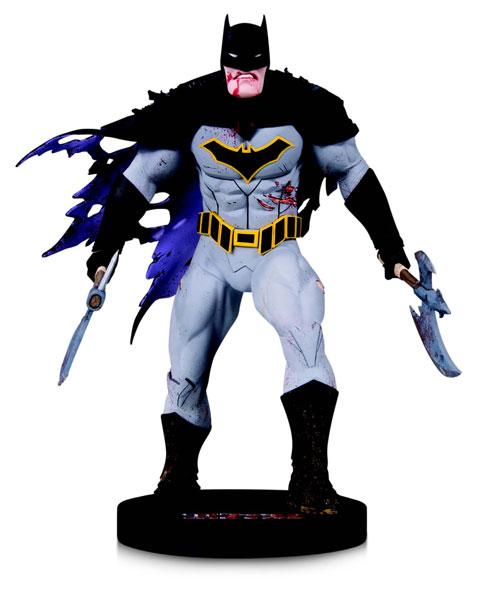 DCコミックス DCミニスタチュー デザイナーシリーズ バットマン(ダークナイツ メタル版) Byグレッグ・カプロ[DCコレクティブル]《在庫切れ》