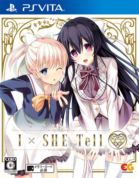 PS Vita I×SHE Tell(アイシーテル) 通常版[エンターグラム]《在庫切れ》