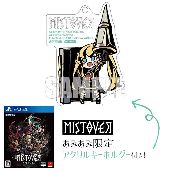 【あみあみ限定特典】PS4 MISTOVER[アークシステムワークス]《01月予約》