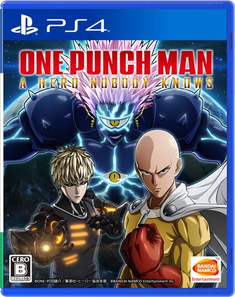 【特典】PS4 ONE PUNCH MAN A HERO NOBODY KNOWS[バンダイナムコ]《在庫切れ》