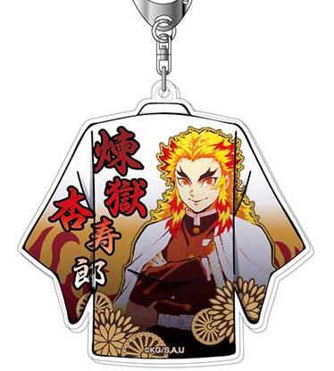 アクリルキーホルダー 鬼滅の刃 Vol.2 03 煉獄杏寿郎(再販)[バンダイ]《07月予約》