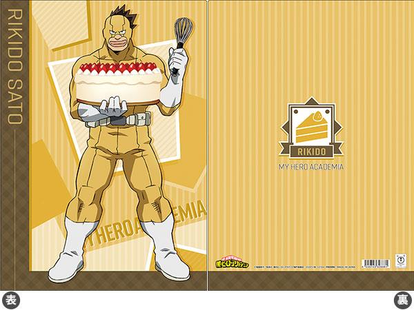 僕のヒーローアカデミア クリアファイル 砂藤(バトルケーキ)[ムービック]《在庫切れ》