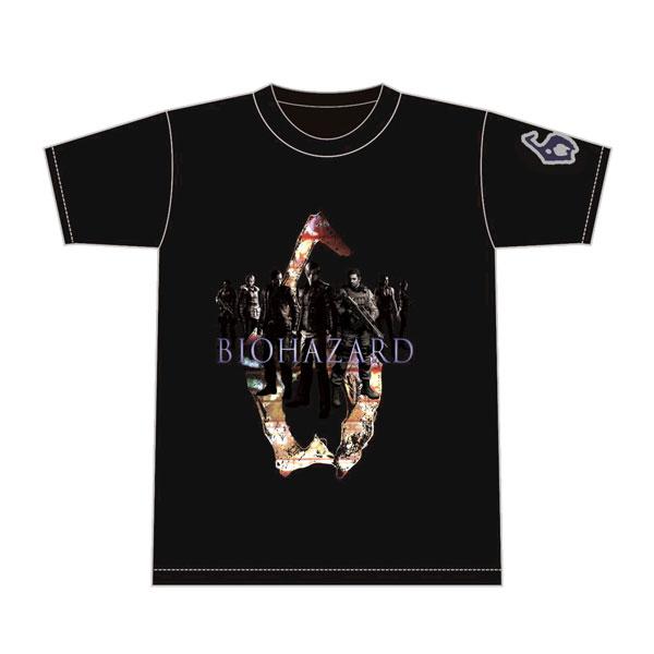 バイオハザード6 Tシャツ タイトルナンバー M[カプコン]《在庫切れ》