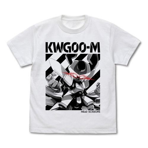 メダロット ヘッドシザース(ロクショウ) Tシャツ/WHITE-M(再販)[コスパ]《06月予約》