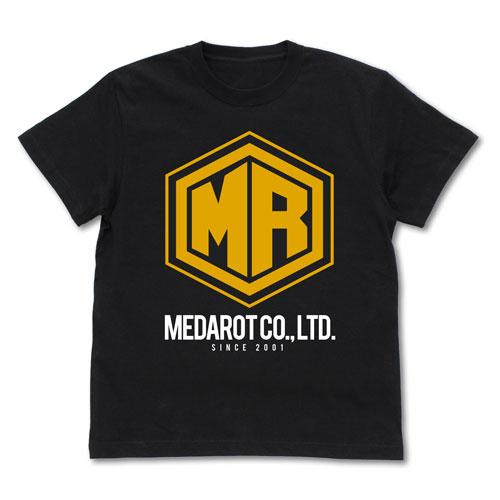 メダロット メダロット社 Tシャツ/BLACK-XL(再販)[コスパ]《06月予約》