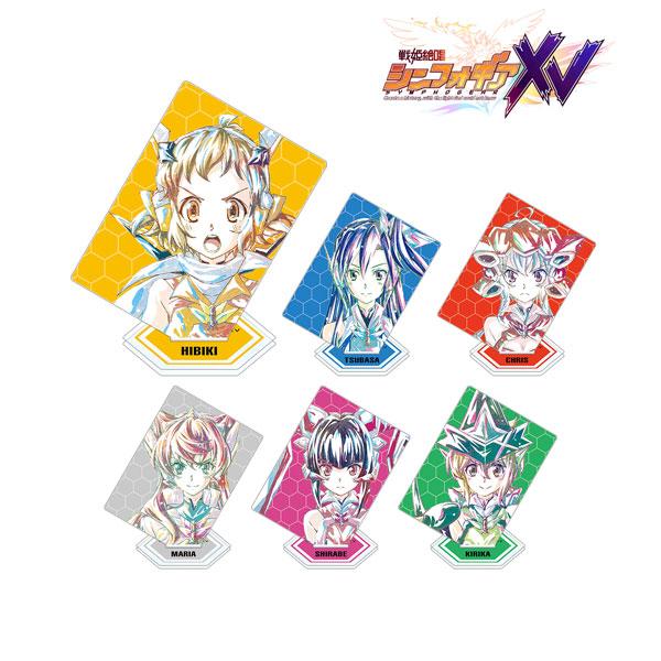戦姫絶唱シンフォギアXV トレーディング Ani-Art アクリルスタンド 6個入りBOX(再販)[アルマビアンカ]《在庫切れ》