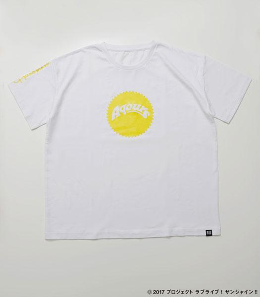 ラブライブ!サンシャイン!! Aqours Sunshine Logo TEE HANAMARU YEL Unisex M[R4G]《在庫切れ》