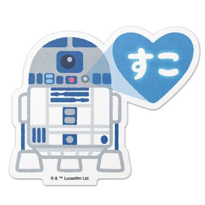 スター・ウォーズ ダイカットステッカー 10 R2-D2 illustration by みふねたかし[コトブキヤ]《在庫切れ》