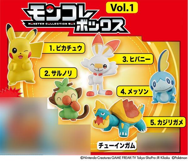 ポケットモンスター モンコレボックス Vol.1 10個入りBOX (食玩)[タカラトミーアーツ]《在庫切れ》
