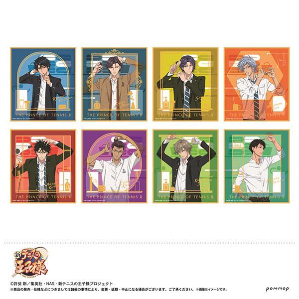 新テニスの王子様 箔押しミニ色紙コレクション 8個入りBOX[POMMOP]《在庫切れ》