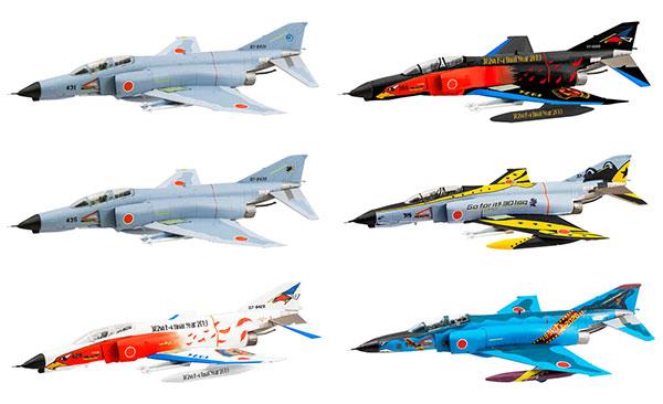 1/144 ワークショップ Vol.37 F-4ファントムII ファイナルスペシャル 10個入りBOX (食玩)(再販)[エフトイズ]《09月予約》