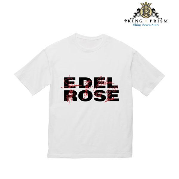 KING OF PRISM -Shiny Seven Stars- Edel Rose BIGシルエットTシャツ ユニセックス XL(再販)[アルマビアンカ]《08月予約》
