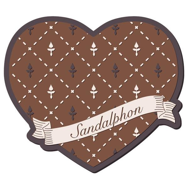 グランブルーファンタジー Valentine Gift コースター サンダルフォン[amie]《01月予約》